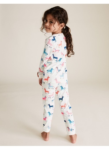 Marks & Spencer Pijama Takım Beyaz